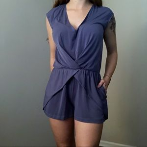 BCBGeneration Blue Romper Size Small